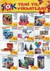 ŞOK Market 28 Aralık 2016 Çarşamba Fırsatları - Yılbaşı Oyunları