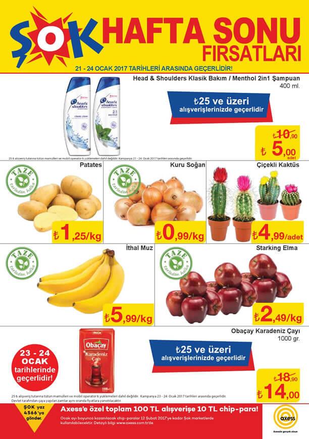 ŞOK 21 - 25 Ocak 2017 Aktüel Ürünler Katalogu
