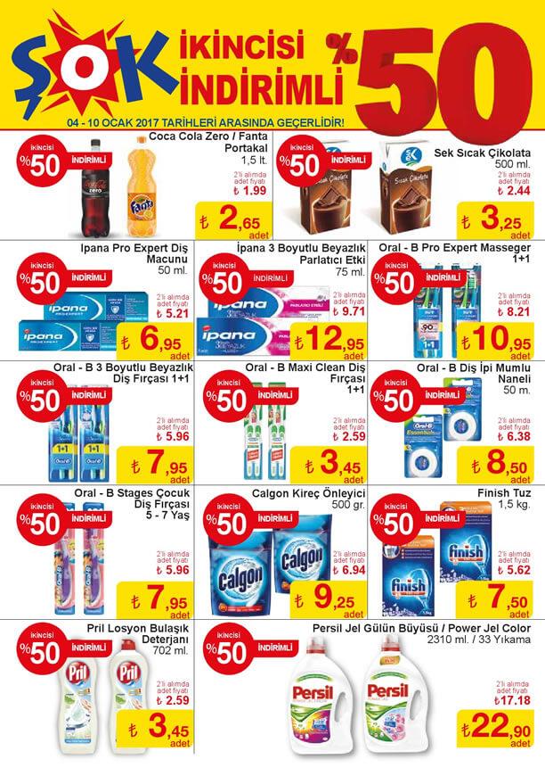 ŞOK Market İndirimleri 4 Ocak 2017 Katalogu - Diş Bakım Ürünleri