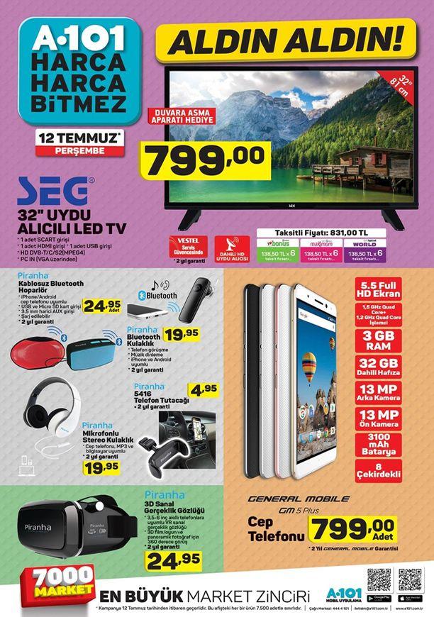 A101 12 Temmuz 2018 Katalogu - General Mobile GM 5 Plus Cep Telefonu