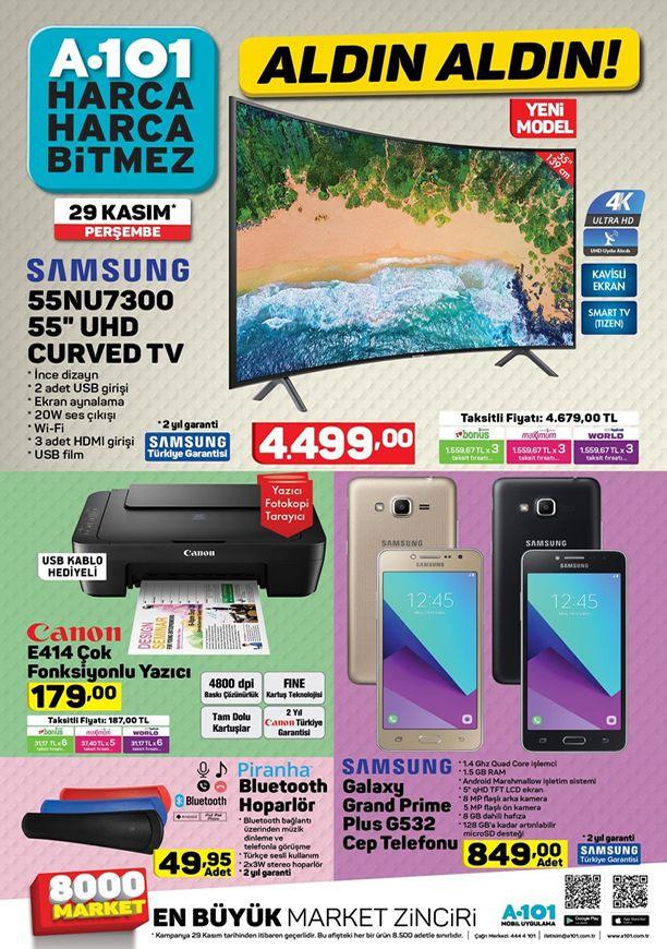 A101 29 Kasım 2018 Aktüel Kataloğu - Samsung Galaxy Grand Prime Plus G532