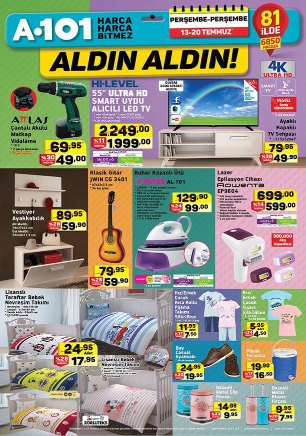 A101 Aktüel 13 - 20 Temmuz 2017 - Rowenta Lazer Epilasyon Cihazı