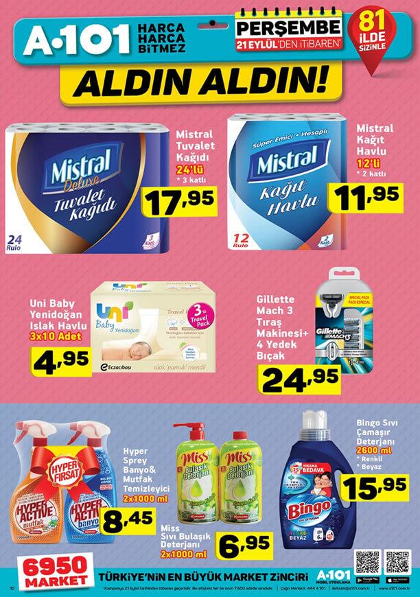 A101 Market 21 Eylül - Bingo Sıvı Çamaşır Deterjanı
