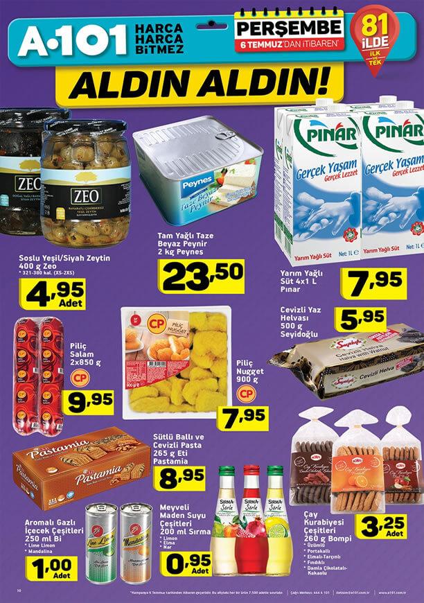 A101 Market 6 Temmuz 2017 Fırsatları