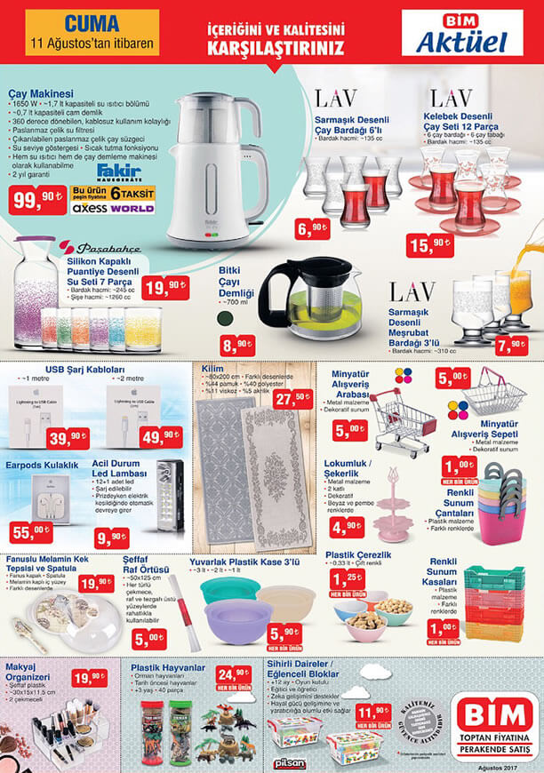 Bim 11 Ağustos - Fakir Çay Makinesi