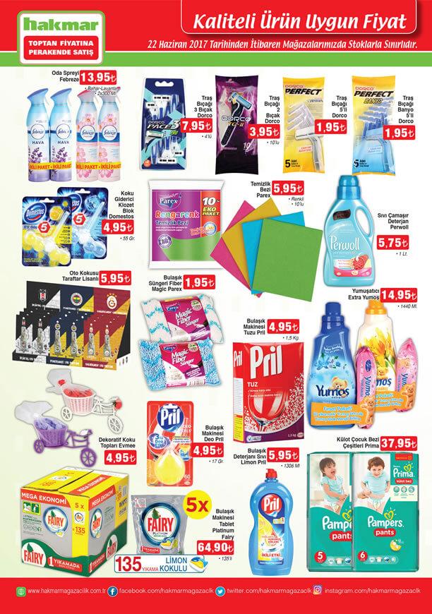 HAKMAR 22 Haziran 2017 - Temizlik Ürünleri
