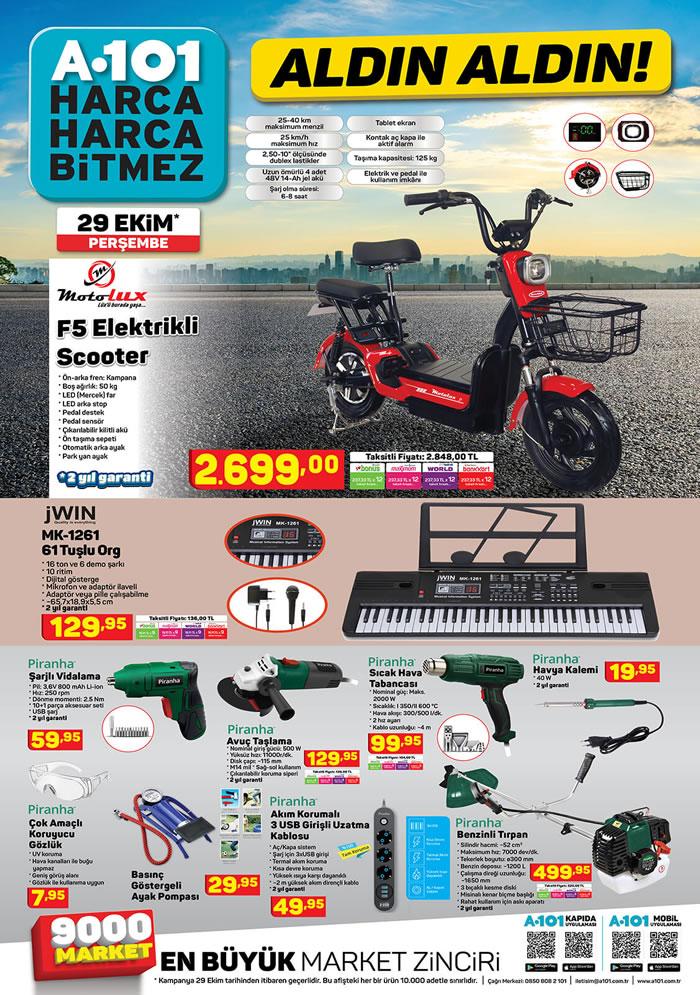 Motolux F5 Elektrikli Scooter