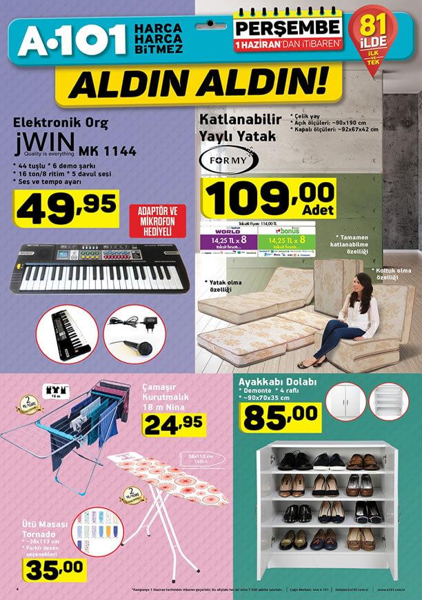 A101 1 Haziran 2017 Kampanyası - JWIN Elektronik Org
