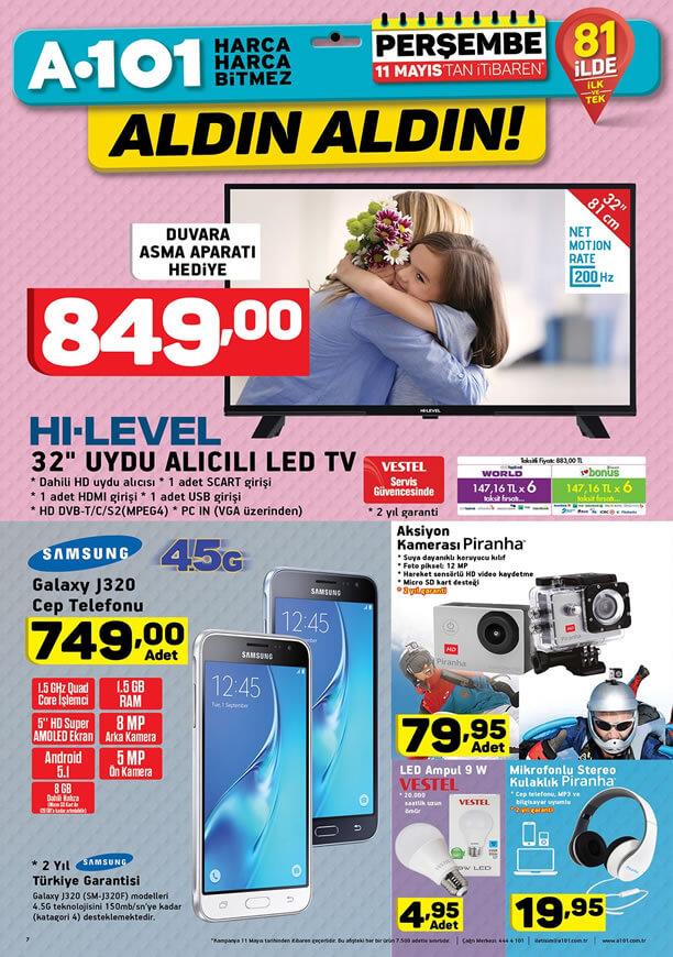 A101 11 Mayıs 2017 Katalogu - Piranha Aksiyon Kamerası