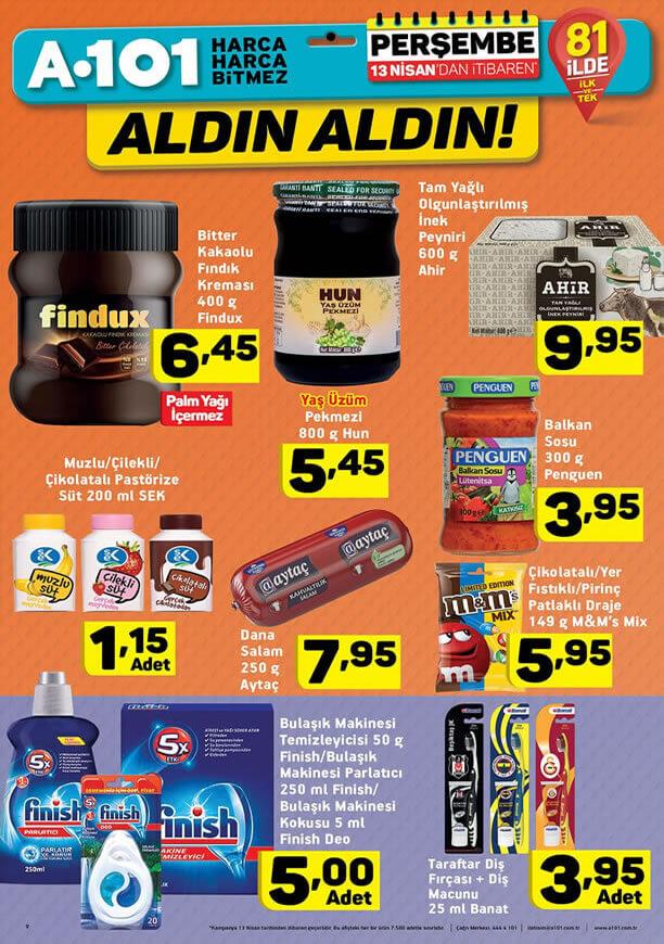 A101 13 - 20 Nisan 2017 Fırsat Ürünleri Katalogu