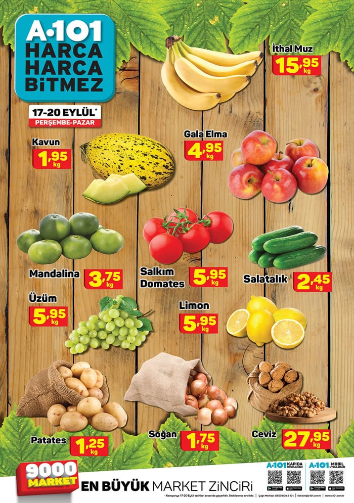 Meyve Sebze Fiyatları