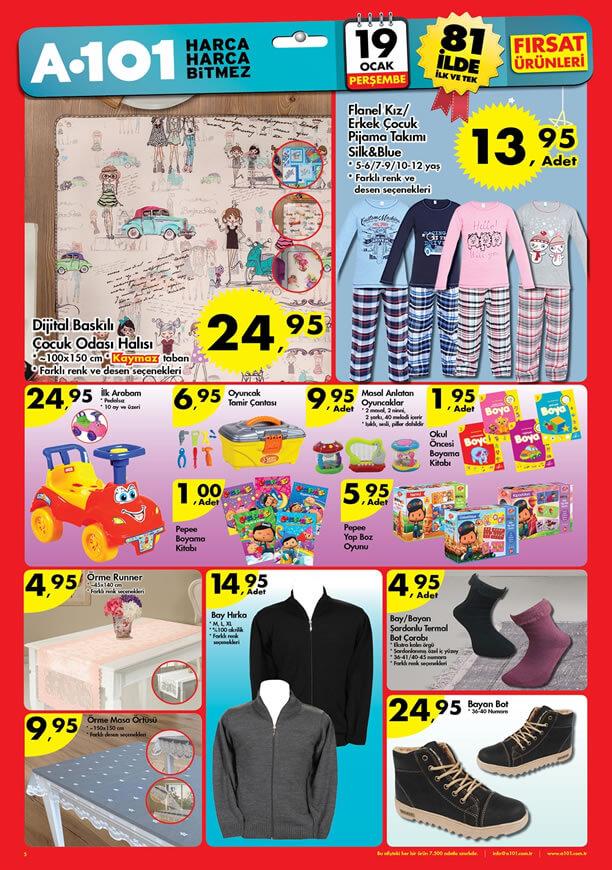 A101 19 Ocak 2017 Aktüel Ürünler Katalogu - Sayfa Üç