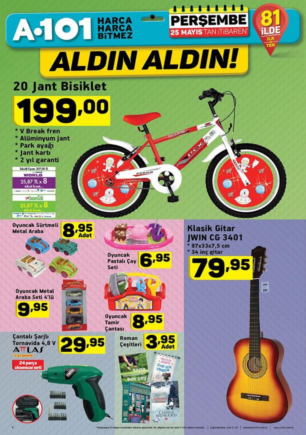 A101 25 Mayıs 2017 Katalogu - JWIN Klasik Gitar