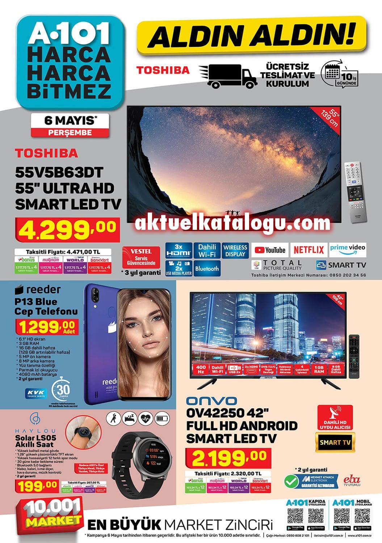 A101 6 Mayıs 2021 Aktüel Ürünler Kataloğu