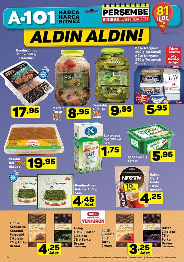 A101 6 Nisan 2017 Fırsat Ürünleri Katalogu