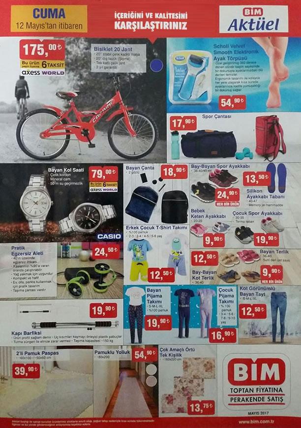BİM 12 Mayıs 2017 Katalogu - Casio Bayan Kol Saati