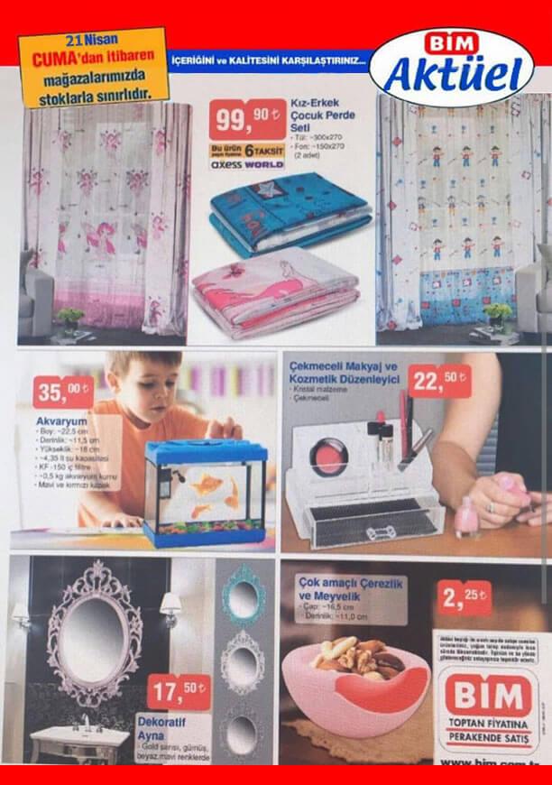 BİM 21 Nisan 2017 Katalogu - Dekoratif Ayna
