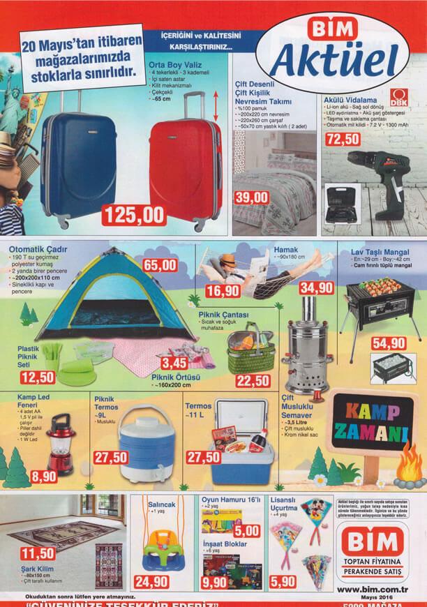 BİM Aktüel Ürünler 20 Mayıs 2016 Katalogu - Orta Boy Valiz