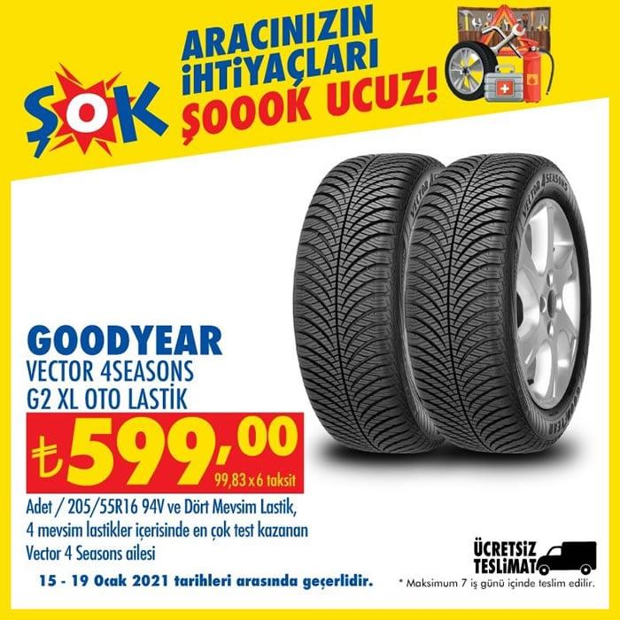 Goodyear Vestor 4 Seasons G2 XL Oto Lastik