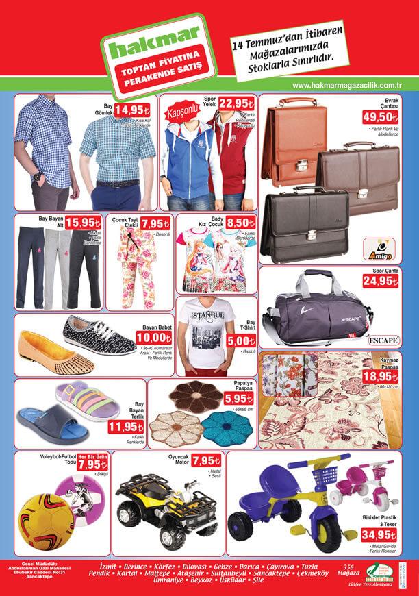HAKMAR 14.07.2016 Fırsat Ürünleri Katalogu - Evrak Çantası