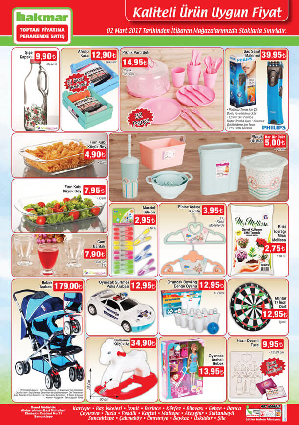 HAKMAR 2 Mart 2017 Katalogu - Philips Saç Sakal Kesme Makinesi