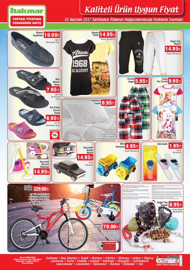 HAKMAR Aktüel 1 Haziran 2017 Katalogu - 26 Jant Bisiklet