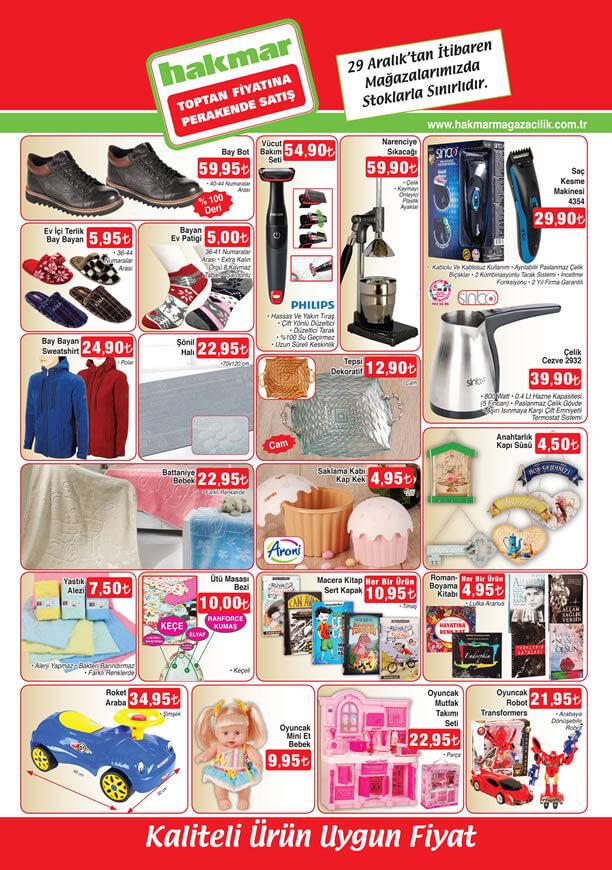 HAKMAR Aktüel 29 Aralık 2016 Katalogu - Philips Vücut Bakım Seti
