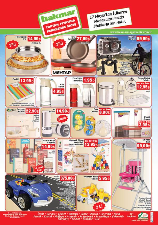 HAKMAR Aktüel Ürünler 12 Mayıs 2016 Katalogu - Akülü Araba