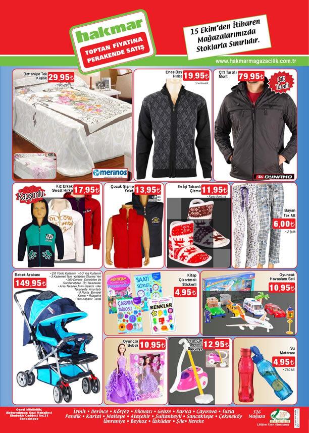 HAKMAR Aktüel Ürünler 15 Ekim 2015 Katalogu - Bebek Arabası