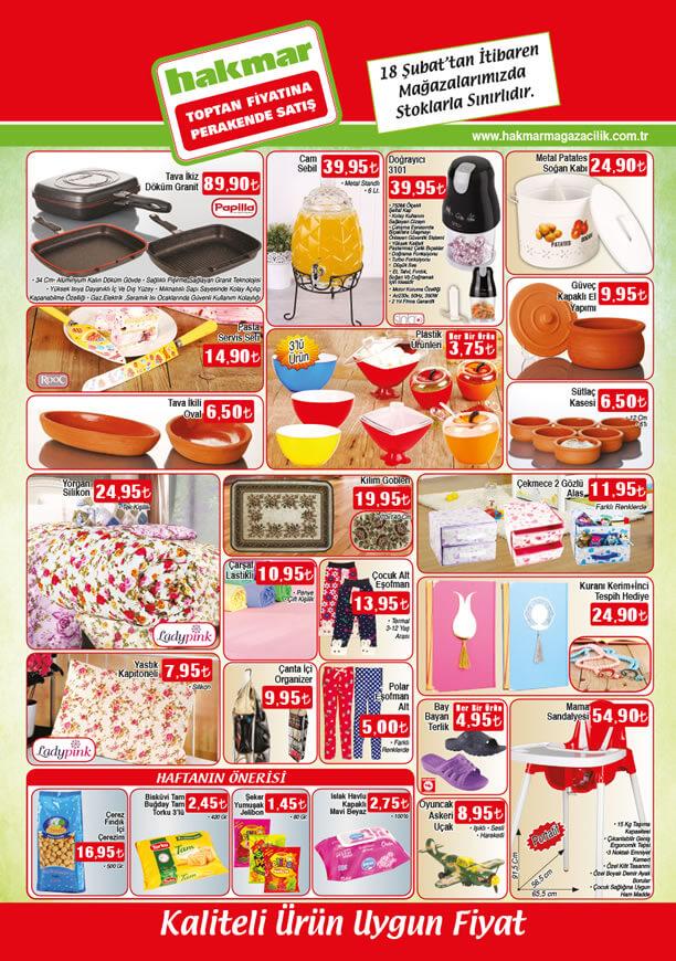 HAKMAR Aktüel Ürünler 18 Şubat 2016 Broşürü - Mama Sandalyesi