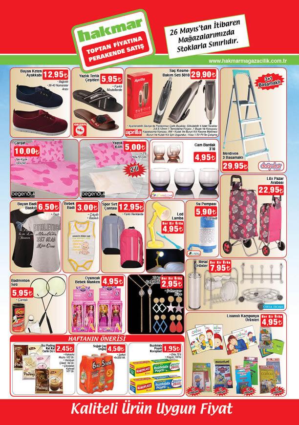 HAKMAR Aktüel Ürünler 26 Mayıs 2016 Katalogu - 3 Basamaklı Merdiven