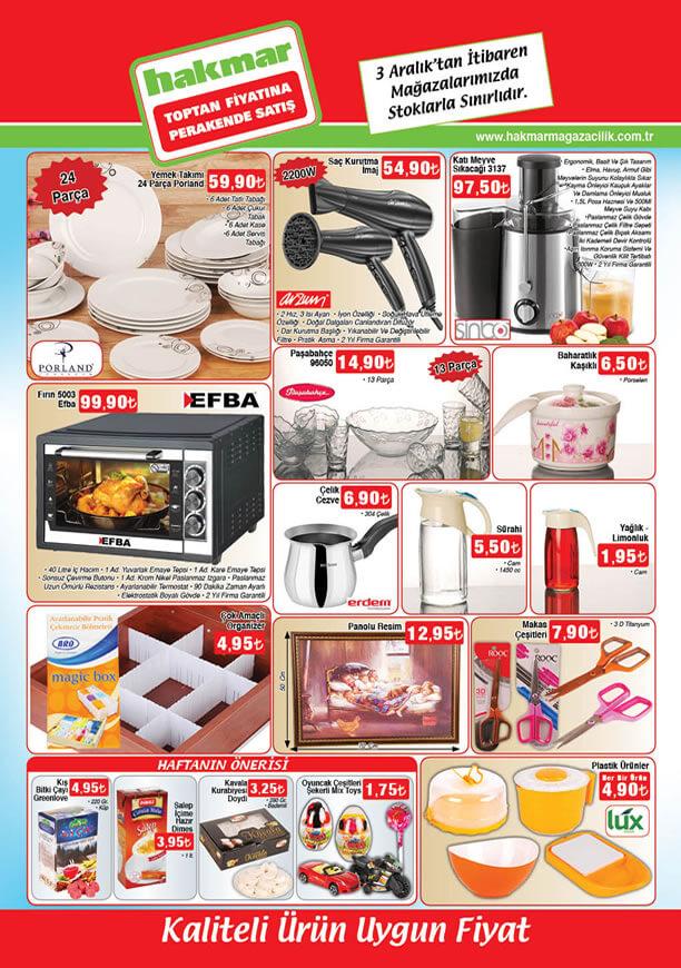 HAKMAR Aktüel Ürünler 3 Aralık 2015 Katalogu - Sinbo Katı Meyve Sıkacağı
