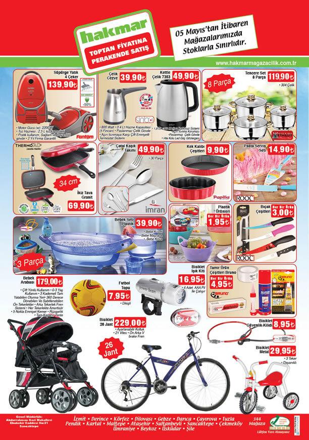 HAKMAR Aktüel Ürünler 5 Mayıs 2016 Katalogu - Fantom 4 Çeker Süpürge