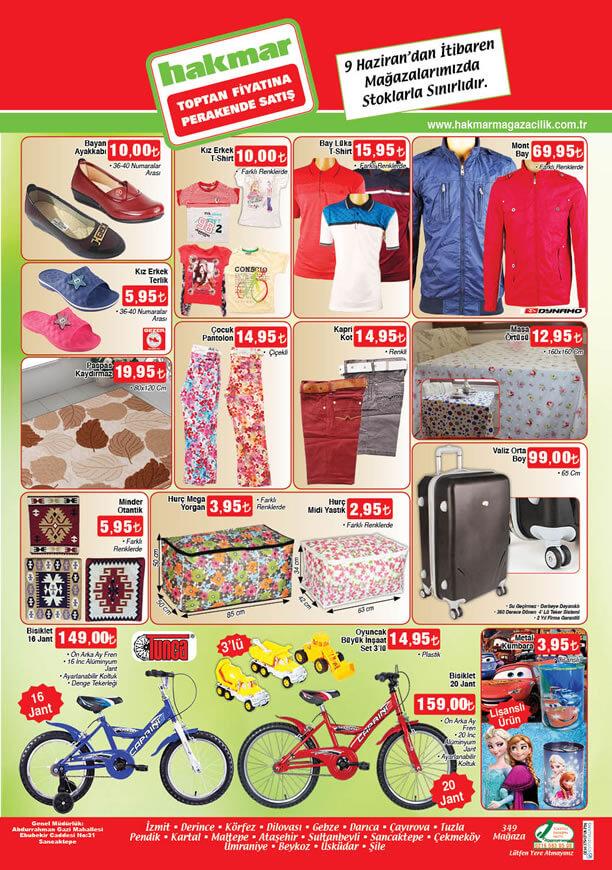 HAKMAR Fırsat Ürünleri 9 Haziran 2016 Katalogu - 20 Jant Bisiklet