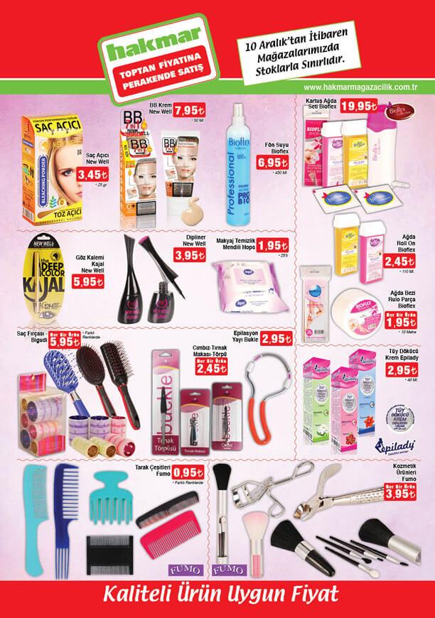 HAKMAR Market 10-16 Aralık 2015 Fırsatları - Kozmetik
