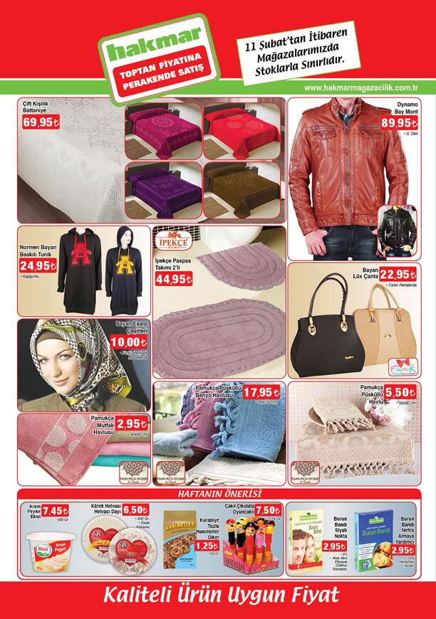 HAKMAR Market 11 Şubat 2016 Broşürü - Dynamo Bay Mont