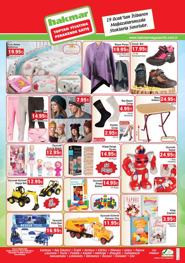 HAKMAR Market 19 Ocak - 25 Ocak 2017 Katalogu - Katlanır Masa