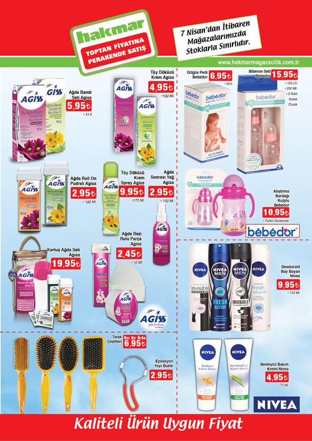 HAKMAR Market 7 Nisan 2016 Aktüel Ürünler Katalogu - Agiss