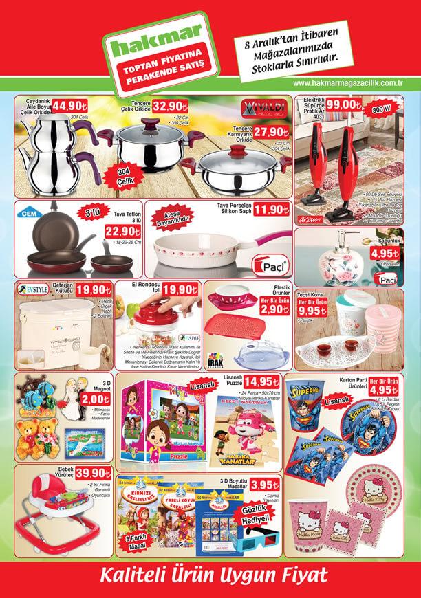 HAKMAR Market 8 Aralık 2016 Katalogu - Arzum Elektrikli Süpürge