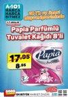 A101 1 - 7 Aralık 2018 Kampanyası - Papia Parfümlü Tuvalet Kağıdı