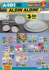 A101 1 Mart 2018 Katalogu - Porland Tekli Porselen Ürünler