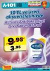 A101 10 TL Üzeri Activex Antibakteriyel Sıvı Sabun - 18 Kasım 2017