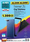 A101 11 Ekim 2018 Aktüel Kataloğu - Honor 7C Cep Telefonu