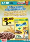 A101 16 Eylül - Nesquik Kahvaltılık Mısır Gevreği