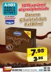 A101 19 - 25 Mayıs İndirim Fırsatı - Danone Çikolatalı Süt