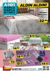 A101 2 Ağustos 2018 Aktüel Ürün Kataloğu - Ev Tekstili