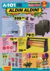 A101 28 Aralık 2017 Perşembe Katalogu - Dört Tekerlekli Kabin Tipi Sert Valiz