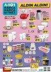 A101 28 Haziran 2018 Katalogu - Porselen Desenli Emaye Çaydanlık
