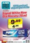 A101 5 - 11 Mayıs 2018 Kampanyası - Signal White Now Diş Macunu