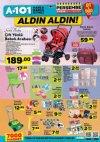 A101 5 Nisan 2018 Aktüel Ürün Kataloğu - Bebek Arabası